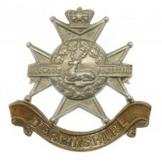 Victorian Derbyshire Regiment (Sherwood Foresters) Cap Badge