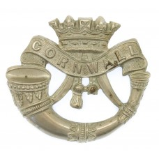 Victorian/Edwardian Duke of Cornwall's Light Infantry Cap Badge