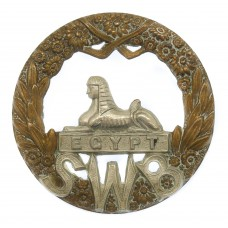 Victorian/Edwardian South Wales Borderers Cap Badge