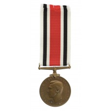 George VI Special Constabulary Long Service Medal - William J. Honey