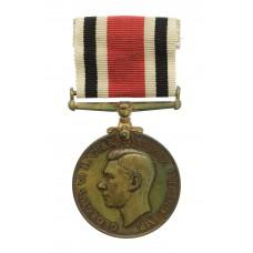 George VI Special Constabulary Long Service Medal - Arthur R. Johnson