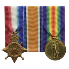 WW1 1914-15 Star and Victory Medal - Pte. F. Dobbs, King's Own Yorkshire Light Infantry