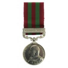1895 India General Service Medal (Clasp - Waziristan 1901-2) - Havr. Amir Khan, North Waziristan Militia