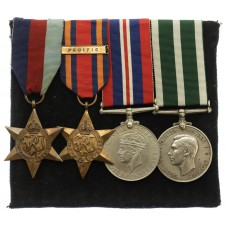 WW2 Royal Naval Reserve Long Service & Good Conduct Medal Gro