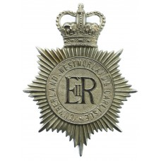 Cumberland, Westmoreland & Carlisle Constabulary Helmet Plate