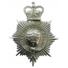 Bath City Police Helmet Plate - Queen's Crown