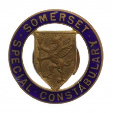 Somerset Special Constabulary Enamelled Lapel Badge