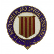 Northumberland Special Constabulary Enamelled Lapel Badge