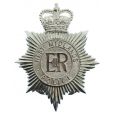West Midlands Police Helmet Plate - Queen's Crown