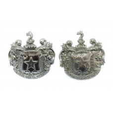 Pair of Ashton -under-Lyne Police Collar Badges