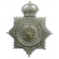 Ashton -under-Lyne Police Helmet Plate - King's Crown
