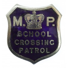 Metropolitan Police School Crossing Patrol Cap Badge
