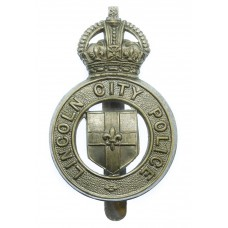 Lincoln City Police Cap Badge - King's Crown