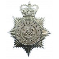 Teeside Constabulary Helmet Plate - Queen's Crown