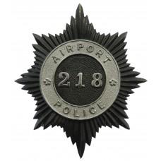 Airport Police Helmet Plate (218)