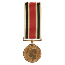 George VI Special Constabulary Long Service Medal - Group Leader William Basham