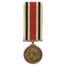 George VI Special Constabulary Long Service Medal - Robert French