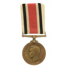 George VI Special Constabulary Long Service Medal - Joseph Morpeth