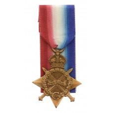 WW1 1914-15 Star - Pte. T. Stringer, 5th Bn. King's Own Yorkshire