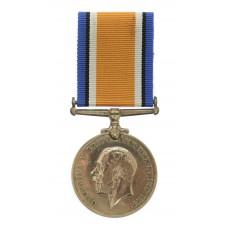 WW1 British War Medal - Pte. A.D. Seed, 1st/5th Bn. King's Own Yo