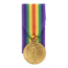 WW1 Victory Medal - Pte. C. Patching, 2nd/5th Bn. King's Own Yorkshire Light Infantry