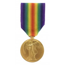 WW1 Victory Medal - Pte. E.G. Wright, 1st/5th Bn. King's Own York
