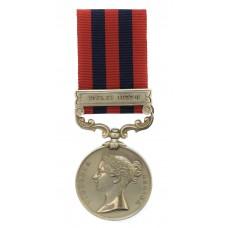 1854 India General Service Medal (Clasp - Jowaki 1877-8) - Pte. G. Still, 4th Bn. Rifle Brigade