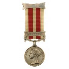 Indian Mutiny Medal (Clasp - Lucknow) - Serjt. A. Hellen, 7th Hussars