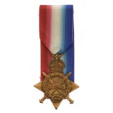 WW1 1914-15 Star - Pte. J. Robinson, 1st/5th Bn. King's Own Yorks