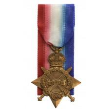 WW1 1914-15 Star - Pte. W. McIntyre, 1st/5th Bn. King's Own Yorks