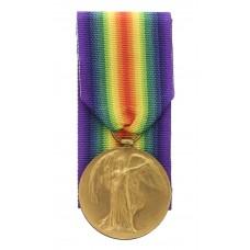 WW1 Victory Medal - Pte. J.C. Walker, King's Own Yorkshire Light
