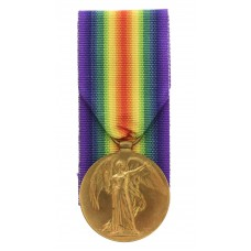 WW1 Victory Medal - Pte. R. Lakin, Northumberland Fusiliers and K