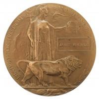 WW1 Memorial Plaque (Death Penny) - James Knowles