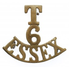6th Territorial Bn. Essex Regiment (T/6/ESSEX) Shoulder Title