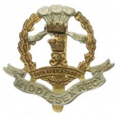 7th, 8th, 9th Bns. Middlesex Regiment Cap Badge