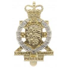 Royal Jersey Militia Royal Engineers Anodised (Staybrite) Cap Bad