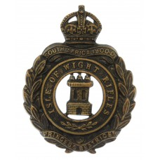 8th Bn. (Isle of Wight Rifles) Hampshire Regiment Cap Badge - Kin