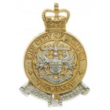 City of London Yeomanry (Rough Riders) Anodised (Staybrite) Cap B