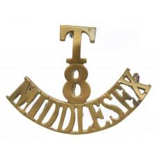 8th Territorial Bn. Middlesex Regiment (T/8/MIDDLESEX) Shoulder T