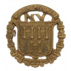 City of Dublin Regiment, Irish National Volunteers Cap Badge (c.1