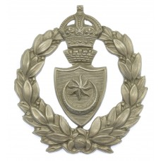 Portsmouth City Police Wreath Cap Badge - King's Crown
