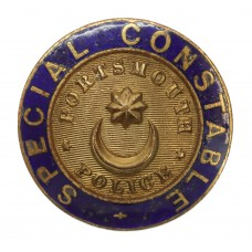 Portsmouth City Police Special Constable Enamelled Lapel Badge