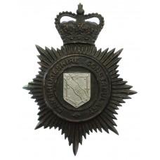 Cambridgeshire Constabulary Night Helmet Plate - Queen's Crown