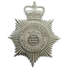 Cambridgeshire Constabulary Helmet Plate - Queen's Crown