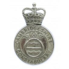 Cambridgeshire Constabulary Cap Badge - Queen's Crown