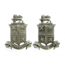 Pair of St Helen's Police Collar Badges