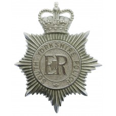 South Yorkshire Police Helmet Plate - Queen's Crown