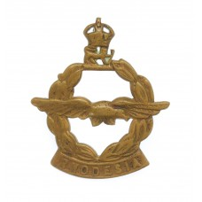 South Rhodesia Air Force Collar Badge - King's Crown