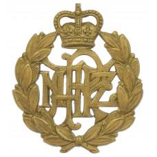 Royal New Zealand Air Force (R.N.Z.A.F.) Cap Badge - Queen's Crown