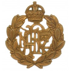 Royal New Zealand Air Force (R.N.Z.A.F.) Cap Badge - King's Crown